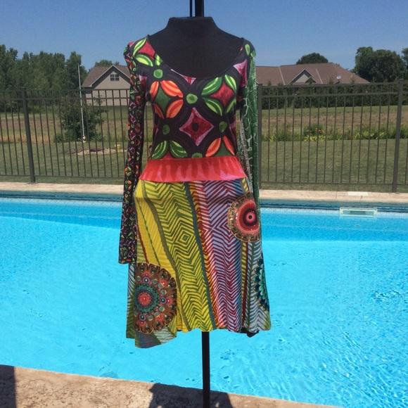 Desigual Dresses & Skirts - Colorful dress